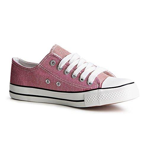 Sport De Rose Sneaker nbsp;femme Topschuhe24 Chaussures nbsp;789 ZwxqX4IR