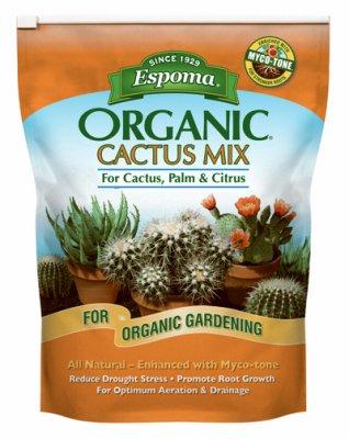Espoma Organic CA8 8QT Cactus Pot Mix - Quantity 1