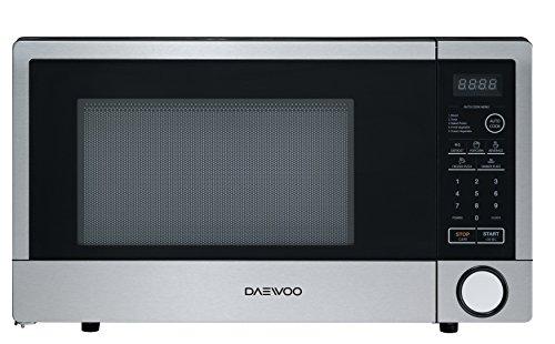 Daewoo KOR-1N5ES Microwave Oven 1.1 Cu. Ft. | Stainless Stee