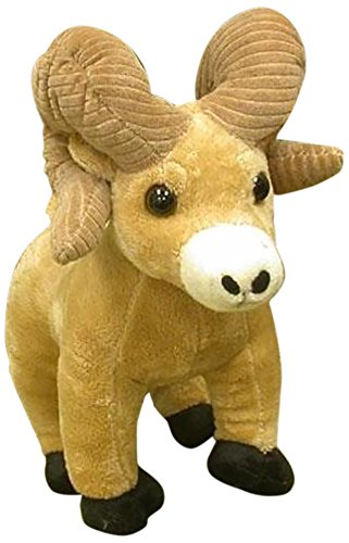"Wishpets Stuffed Animal - Soft Plush Toy for Kids - 8"" Ram with Corduroy Horns"
