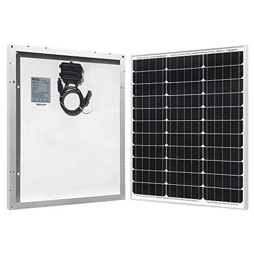 HQST 50 Watt 12 Volt Monocrystalline Solar Panel for RV/Boat/Other Off Grid Applications(50W Compact Design) by HQST (Image #3)