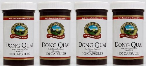 Naturessunshine Dong Quai Herbal Food Supplement 520 mg 100 Capsules (Pack of 4) by Nature's Sunshine