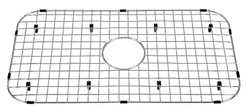 Starstar Sink Protector Stainless Steel Kitchen Sink Bottom Grid, Rack, 26'' x 14.375'' by Starstar