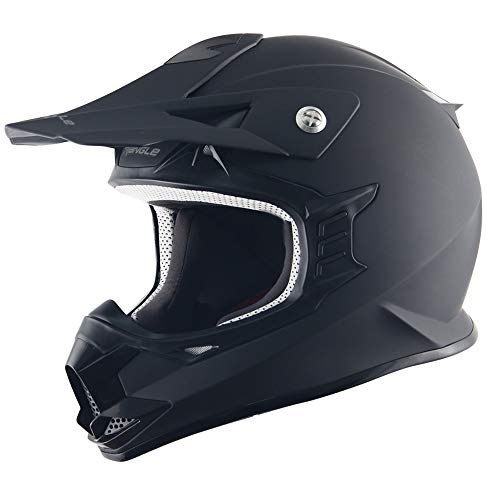 Triangle Motorcycle Helmets Off Road Sport ATV Motocross Dirt Bike