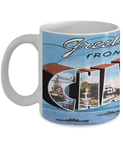 (Charleston South Carolina Postcard Large Letter City Mug)