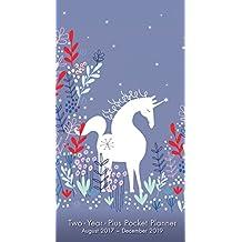 Unicorn 2018 Checkbook/2 Year Pocket Planner Calendar (CC0282)