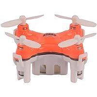 YouCute TINY! Cx Stars Worlds Smallest Drone Nano Drone RC Quadcopter mini quadcopter drone 2.4G 6 Axis Gyro (Orange)