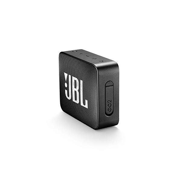 JBL GO 2 - Mini Enceinte Bluetooth portable - Étanche pour piscine & plage IPX7 - Autonomie 5hrs - Qualité audio JBL - Noir 3