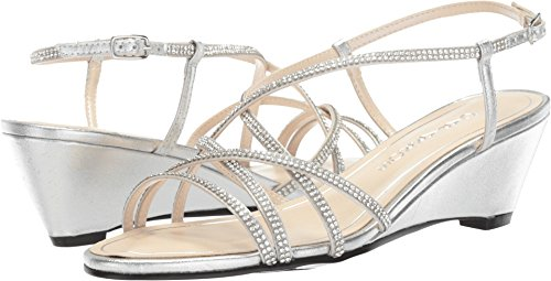 Caparros Women's Leighton Silver Metallic 5.5 B US