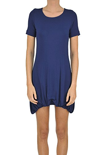 Dondup Women's Mcglvs003185e Blue Viscose Dress by Dondup
