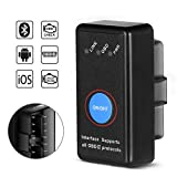 SAVFY OBD 2 Bluetooth Scanner Equal to ELM327 OBD II Adapter Diagnostic-Tool Car