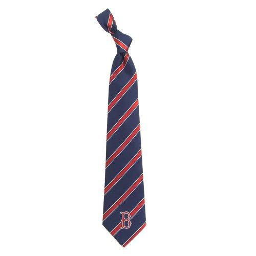 Boston Red Sox Woven Polyester Necktie Boston Red Sox Necktie