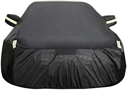JMQCXD Autoabdeckung Kompatibel mit Chevrolet Chevy II Hardtop Car Cover Outdoor Regenfest Wasserdicht Schnee- Sunscreen Persönlichkeit Mode Oxford Cloth Car Cover (Color : Black)