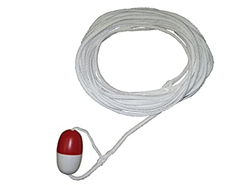 Kemp 10-222-60 60 In. Throw Rope With Buoy - Rescue Throw Line