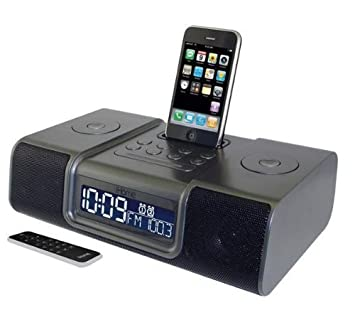 ihome ip9 docking station with alarm clock gun metal grey mdr rh amazon co uk ihome ip90 ihome ip97