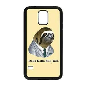 Nymeria 19 Customized Sloth Astronaut Diy Design For Samsung Galaxy S5 Hard Back Cover Case DE-438