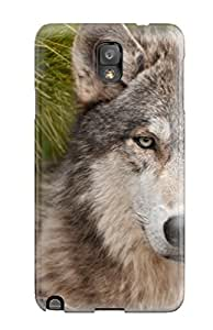 All Green Corp's Shop 7757897K13259052 Unique Design Galaxy Note 3 Durable Tpu Case Cover Wolf