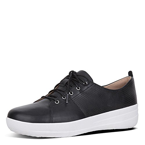 Sporty Up Sneakers Perf de II Noir Lace F FitFlop Femme Chaussures TM Cross wf05Y0Xq