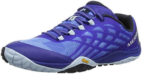 Merrell Women's Glove 4 Trail Runner Blue Sport