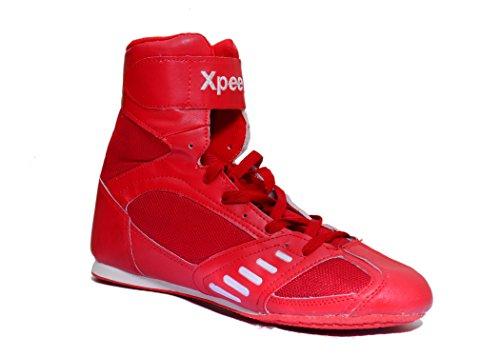Chaussures De Boxe Xpeed / Xpeed Se Battre En Rouge