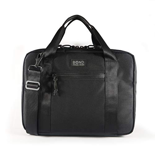 Attache 13 (Black/Tan)