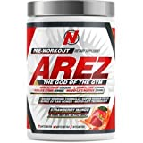 AREZ God of The Gym Pre-Workout Limited Edition | Any Body Supplements Exclusive (Strawberry Mango) For Sale
