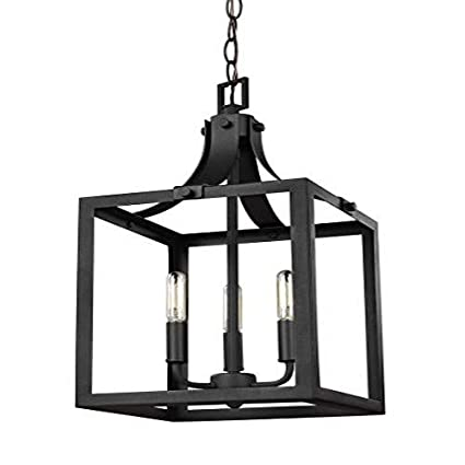Amazon.com: Sea Gull Lighting 5140603 labette 3 luz 10
