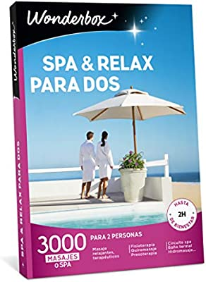 WONDERBOX Caja SPA & Relax para Dos- 3.000 experiencias de para ...