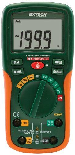 Flir Systems Extech EX210T True RMS Multimeter with IR Th...