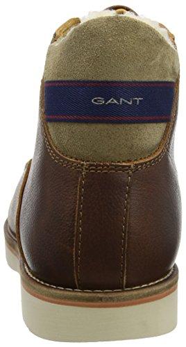 Gant Huck, Stivali Chukka Uomo Brown (Cognac)