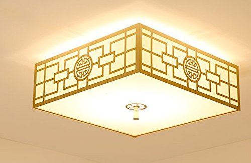 Nuevo salón moderno chino simple creativo LED techo lámpara ...