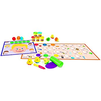 Amazon.com: Play-Doh Numbers, Letters, N' Fun: Toys & Games