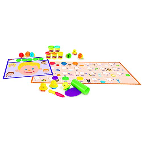 - Play-Doh Shape and Learn Letters and Language