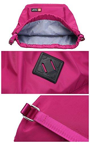 AOTIAN 3832 - Bolso mochila  para mujer negro Negro carbón F-WINE