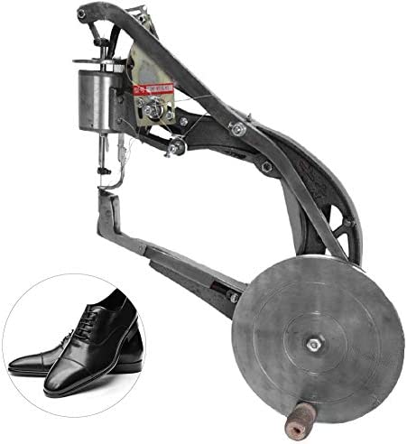Jarchii Máquina Manual de reparación de Calzado, Tipo de Mano Profesional Antigua Pin de Hierro Reparación de Borde de Zapato Máquina de Coser para Zapatos Zapatos Deportivos Zapatos de tacón altoc: Amazon.es: