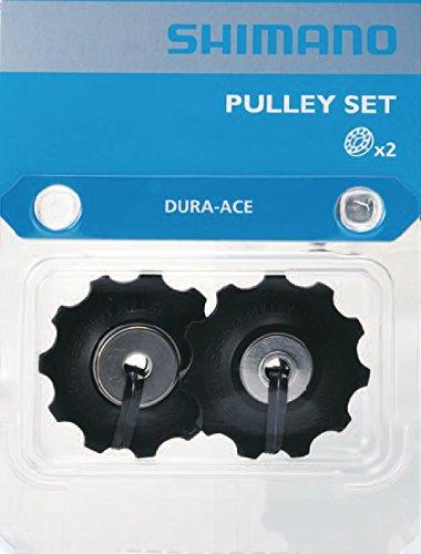 Shimano RD-9000 Dura Ace 11 Speed Gear Pulleys/Jockey Wheels-Black