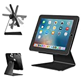 iPad Desktop Anti-Theft Security Kiosk POS Stand Holder Enclosure with Lock & Key for Tablets iPad 2,3,4, iPad air 1, 2, iPad Pro 9.7', iPad 2017 &...