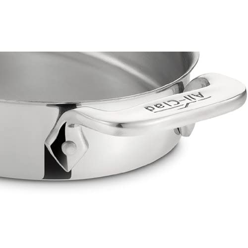 All-Clad 59900 Stainless Steel 7-Inch Oval-Shaped Baker Specialty Cookware Set, 2-Piece, Silver
