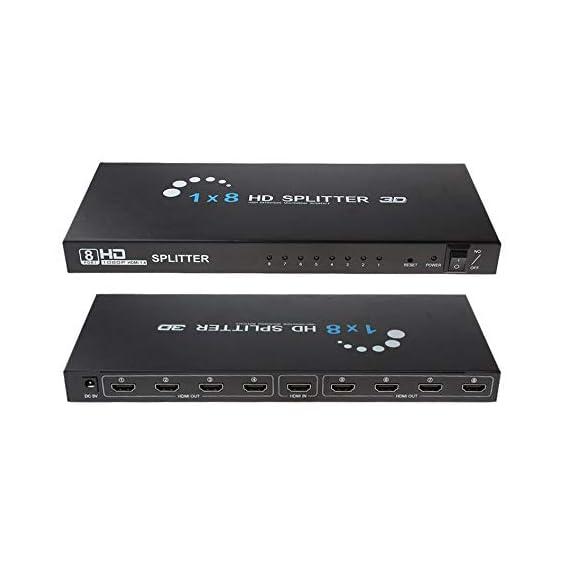 Kinivo 501BN Premium HDMI Switch/Splitter HDMI Switcher Full HD and Ultra HD - 5 Port(Non 4K)