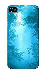 Exultantor Series Skin Case Cover Ikey Case For Iphone 5/5s(forest)