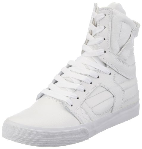 Supra Skytop II Men US 10.5 White Sneakers