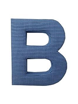 Amazon.com: Letra B tela Muro Carta – Azul Cuadros – Letra b ...