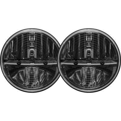 Rigid Industries 55004 7' Round Headlight Heated Lens with PWM Adaptor, Set of 2