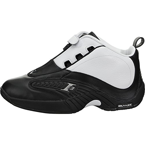 Reebok Men Answer IV Stepover black white steel Size 8.5 US Review