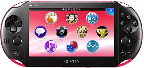 Sony Playstation Vita Wi-Fi 2000 Series Slim (Piano Black/Matte Pink)(Renewed)