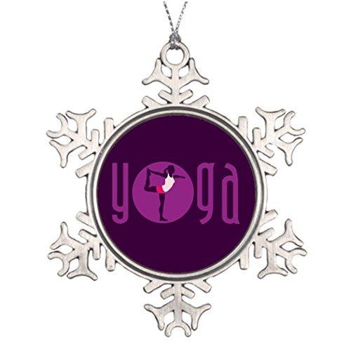 Athena Bacon Ideas for Decorating Christmas Trees Yoga Woman Western Christmas Snowflake Ornaments Tree Decor