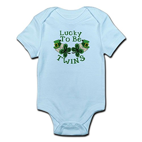 CafePress Lucky TWINS - Cute Infant Bodysuit Baby ()