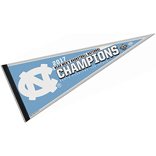 North Carolina Tar Heels 2017 NCAA National Champions (National Champions Pennant)