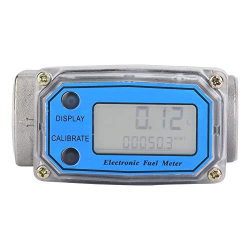 (Flow Water Meter, Turbine Fuel Meter 15-120L/min 1