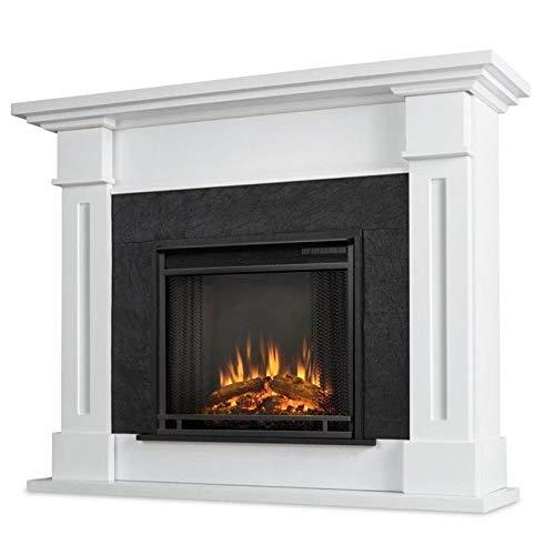 Real Flame 6030E-W 6030E Kipling Electric Fireplace, Medium, White (Fireplaces Electric White)